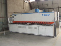 cisaille LVD, commande numérique, équipements